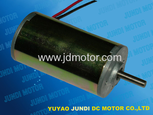 Permanent magnet carbon brush dc motor from china for Permanent magnet motor manufacturers