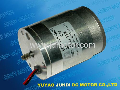 直流电机 66mm pmdc motor  闸门电机 微电机 齿轴马达; 直流电机 66