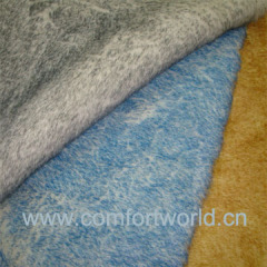 Acrlic/Polyester Tip-Dyed Faux Fur Fabric
