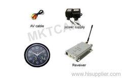 MKTCAM Wireless CCD Hidden Clock Camera with Remote Control