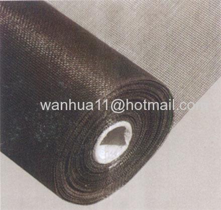 black wires cloth