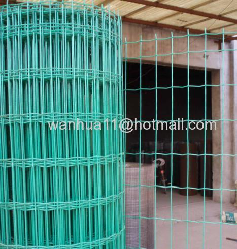 PVC coad welded wire meshes