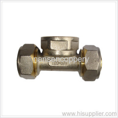 brass pipe nipple joint