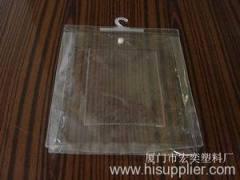 clear vinyl bag