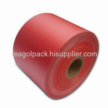 bobbin sealing tape-red film