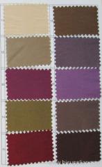 Taffeta Color Card For Evening Dress