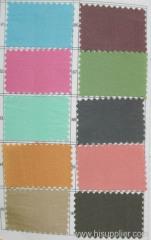 Color Card of Taffeta