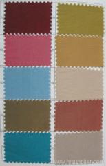 Color Card of Taffeta prom