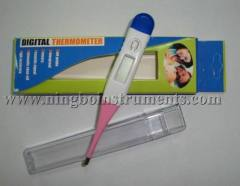 flexible clinical thermometer