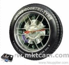 MKTCAM Mini spy hidden clock camera with mp4 recorder