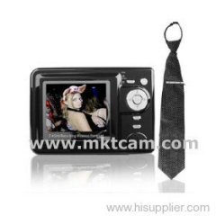 MKTCAM Spy pinhole necktie camera with mp4 recorder