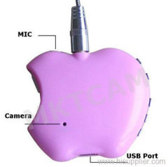 MKTCAM Mini Spy hidden MP3 Camera