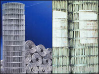 Special welded wire meshs