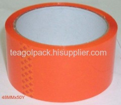 Orange adhesive tape