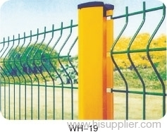 Curvy Welded mesh Fences