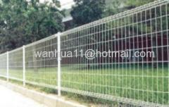 Double Ring Welded Wire Mesh Garden Fencing