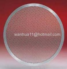 Filter expanded metal mesh