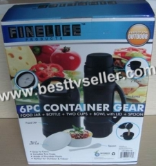 6pcs Container Gear