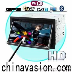 King Cobra 7 Inch HD Touch Car DVD Player (WIFI, GPS, DVB-T)