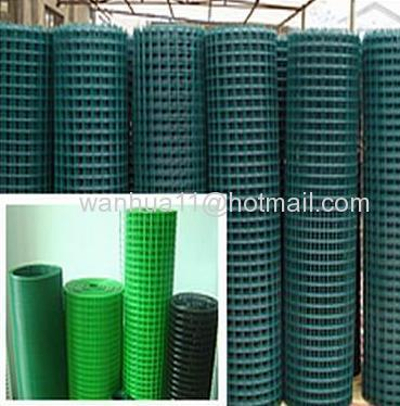 PVC coated welded wires mesh