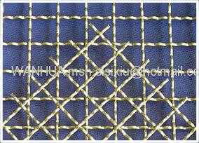 Crimped Iron Wire Mesh Panel