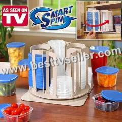 Smart Spin Storage System Containers