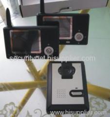 Cordless video door phone