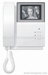 3.5 Inch TFT or 4 Inch CRT Video Door Phone(Indoor monitor SNC8452)