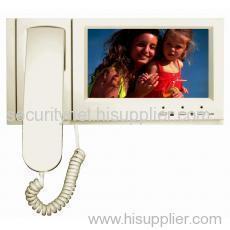 7 Inch TFT Handset Video Door Phone(indoor monitorSNC8455-70)