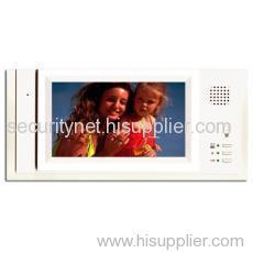 7 Inch TFT Handfreet Video Door Phone(indoor monitorSNC8456)