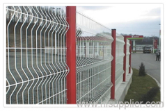 Double Loop Decorative metal Fences