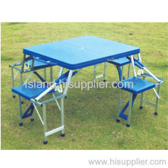 folding table with chair , camping table ,outdoor table