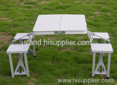 folding table with chair, camping table , outdoor table