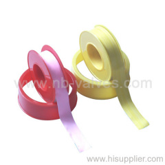 Colorful teflon tape