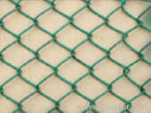 green pvc chain link fence