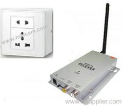 Mini Hidden Wireless  Socket camera with remote control