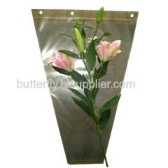 transparent flower sleeves