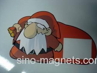printed fridge magnet for Christmas