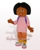 Dora Mascot Costume, Christmas Party Dress
