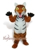 Yellow Tiger Mascot Costume, Christmas Party Dress