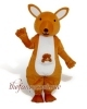 Yellow Kangaroo Mascot Costume ,Christmas Party Dress