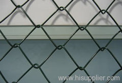 pvc-coated wire chain link fences