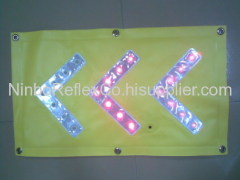 LED warning signs banner