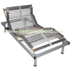 Metal electric adjustable bed frame