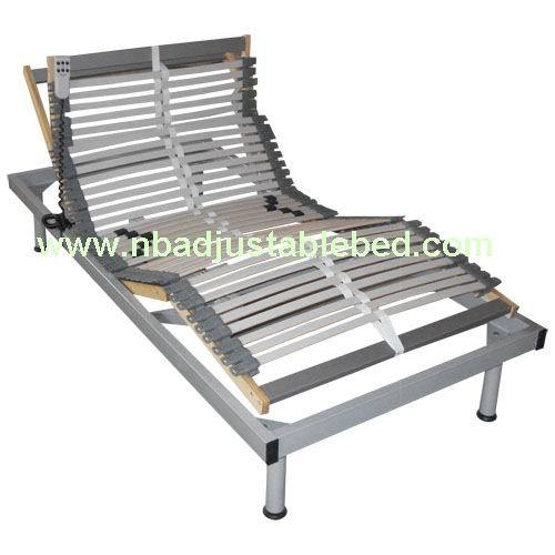 Metal electric adjustable bed frame