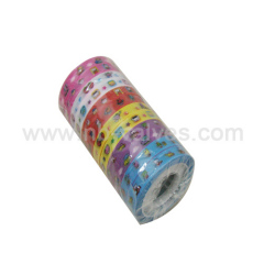 Colourful stationery adhesive tape