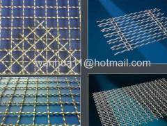 steel crimped wire mesh