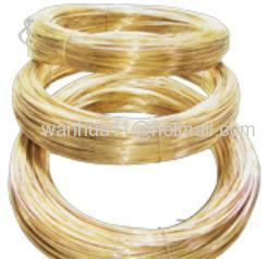 brass wire in coil