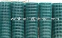 PVC coated welded wires meshes