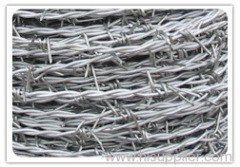 electric galvanized barbed wires